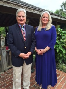 Warren Montgomery - Patti Lucchesi - Republican Women of Franklinton 4-16-15