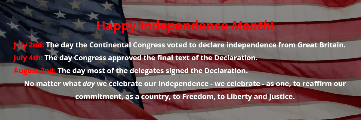 independence month slide