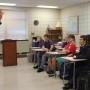 Assistant DA Jay Adair Speaks at Career Day at Fontainebleau High School