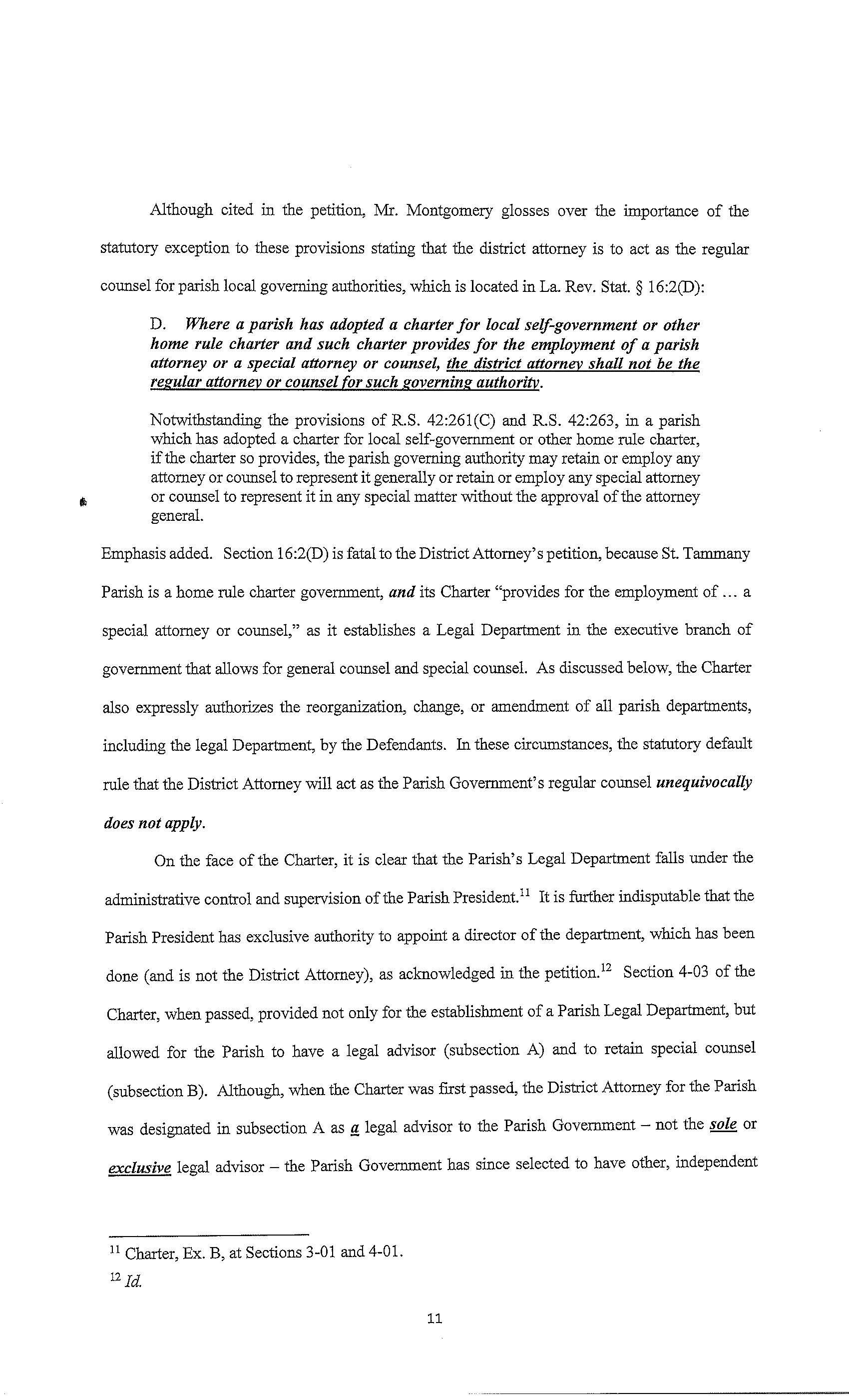Defendantsu0027 Memorandum In Support Of Exceptions
