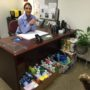 DA Investigator Denice Blair Collects Cleaning Supplies for Flood Relief