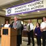 District Attorney Announces Interagency Partnership to Combat Domestic Violence
