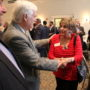 DA Montgomery attends St. Tammany Chamber event.