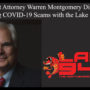 District Attorney Warren Montgomery Discusses Avoiding COVID-19 Scams with the Lake 94.7FM